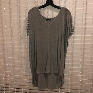 Brandy Melville | Grey Short Sleeve | OS